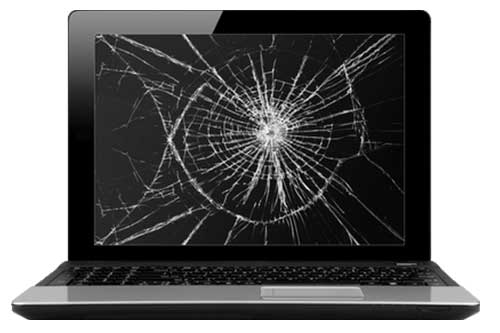 Cracked screen replacement